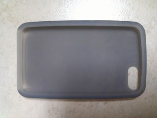iPod Touch Silicone Skin Case Cover iTouch 3rd Gen Gray