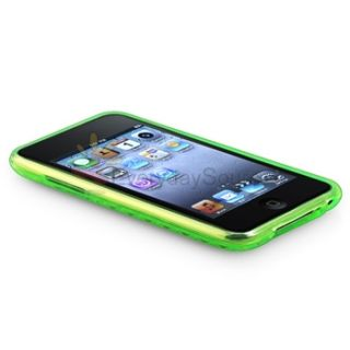 Gel Skin Cover Case for iPod Touch 2nd Gen 2 3 3rd G Protector