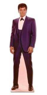 Elvis Presley 1960s Blue Suit Lifesize Cardboard Cutout