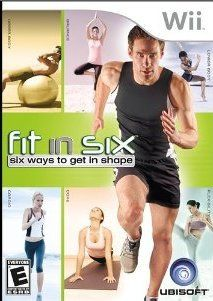 Nintendo Wii Game Fit in Six 6 Ways to Get in Shape Brand New SEALED