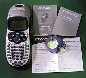Cardscan Dymo LetraTag 2000 Label Printer on PopScreen
