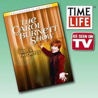 As Seen on TV Time Life Carol Burnett Carols Favorites Set of 6 DVD