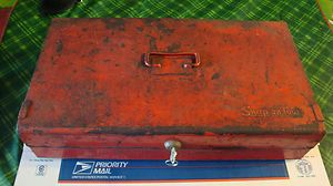 Vintage Snap on Tools Tool box with LOTS OF CARBURETOR TOOLS