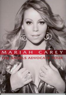 mariah carey 2010 angels advocate tour program book