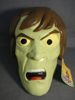 Barbera Scooby Doo The Creeper Mr Carswell Adult Halloween Mask