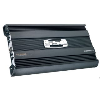 Soundstorm F4 2000 4 Channel 2000W MOSFET Force Series Power Amplifier