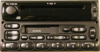 Ford Mercury CD Cass Radio Explorer F250 Ranger 98 05
