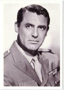 Cary Grant Actor in the 1940s Modern Postcard #3