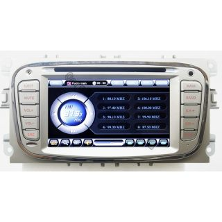 Car DVD Player GPS Navigation Radio Bluetooth for Ford Mondeo