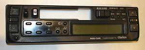 Genuine Clarion Faceplate RAX310D Car Radio Cassette Player