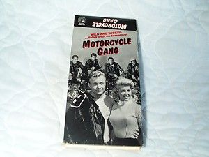 Motorcycle Gang VHS Carl Alfalfa Switzer 50s Bikers 043396917736