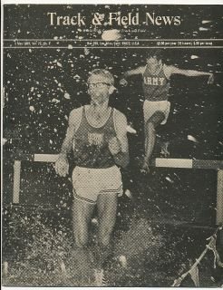TRACK & FIELD NEWS Steeplchase BOB PRICE KEN MOORE West Coast Relays