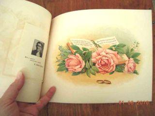 WEDDING album book 1910 SWARTZ/CARUTHERS baltimore md/lancaster pa