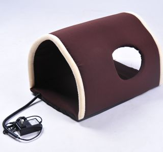 Pawhut New Pawhut Electric Heated Dog or Cat Tunnel Pet Bed Kitty
