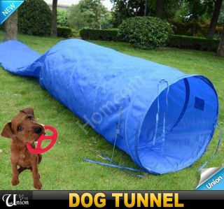 New 16 4 ft Folding Pet Dog Agility Tunnel with Free Carry Case