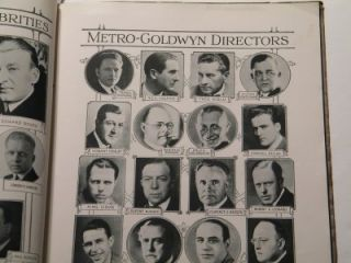 MGM RARE 1924 Ball Program Lon Chaney Greed Buster Keaton Lillian Gish
