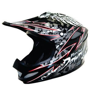 Nikko Carbon Fiber Vertical x Full Face Down Hill Mountain Bike Helmet