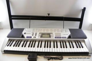 Casio CTK 496 Portable Digital Piano Keyboard 61 Full Size Keys w