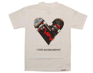 Brand New Diamond Supply Co I Love Skateboarding Shirt Size 3xl xxxl