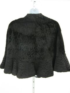 you are bidding on a cassin brown sheared fur stole wrap in a size one