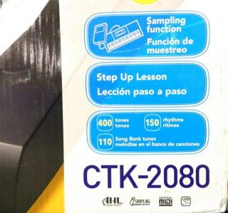 Casio 61 Keys Portable Electronic Keyboard Kit Model CTK 2080