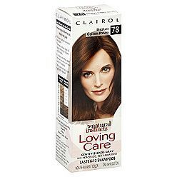 Natural Instincts Loving Care Hair Color Medium Golden Brown 78