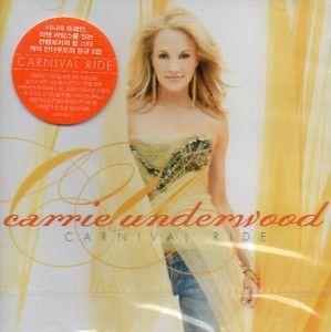 Carrie Underwood Carnival Ride Korea CD SEALED $2 99 s H