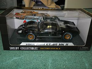 Carroll Shelby Collectibles 1966 Ford GT 40 MK II Black