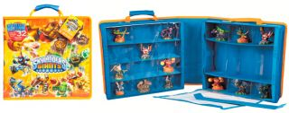New Skylanders Giants Carry Display Case Bag Holds 32 Characters Free