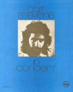 guaranteed authentic this is an original program from cat stevens