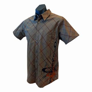 Oakley Mens Dress Casual Shirt Burst New Khaki Size s M L RRP$ 79 New