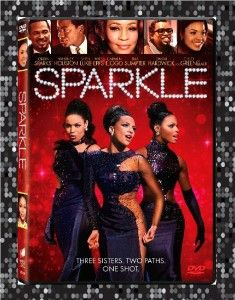 Sparkle DVD 2012 Stars Whitney Houston Jordin Sparks Ships 1st Class