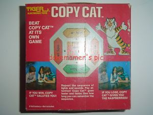Tiger Electronics Vintage 1979 Copy Cat Game 7 520