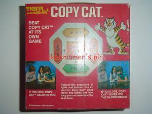 Tiger Electronics Vintage 1979 Copy Cat Game 7 520