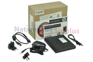 OEM HP External USB Drive CD RW/DVD RW Slim 519700 001 w Lightscribe