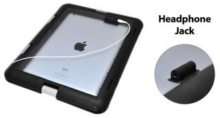 Pyle Universal Waterproof Case Headphone Jack for iPad 2 3 4 Android