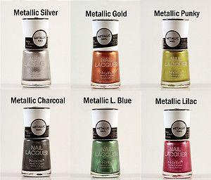 Lot 3 Nabi Metallic Nail Polish Pick Any 3 Colors