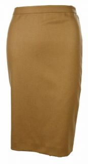 Sutton Studio Womens 100 Cashmere Lined Knee Length Pencil Skirt