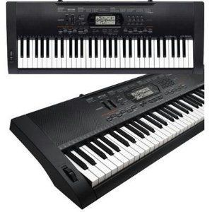 Casio 61 Key Electronic Keyboard Piano Standard Size Keys With Touch