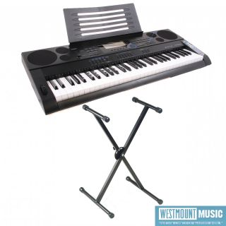 Casio CTK 6000 Keyboard Pack with Quicklok Stand, Free AC Adapter and