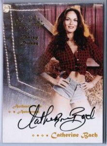 Catherine Bach Daisy Duke 2012 Benchwarmer Daizy Dukez Auto Signature