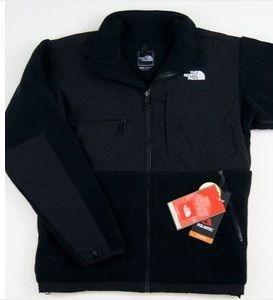 NORTH FACE DENALI MEN jacket fleece NEW WITH TAGS black size 3XL