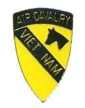 Air Cavalry Vietnam Military Hat Lapel Pin TG806