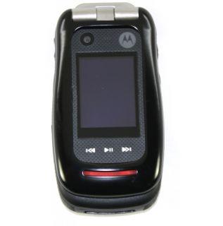 Motorola V860 Barrage Verizon Black Rugged Cell Phone
