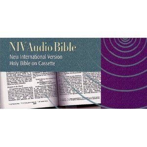 Boxed Audio Holy Bible (48) Cassettes NIV Old & New Testament Johnston