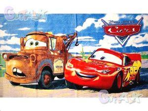 New Pixar Cars Car Lightning McQueen Cotton Bath Shower Towel C 43X25