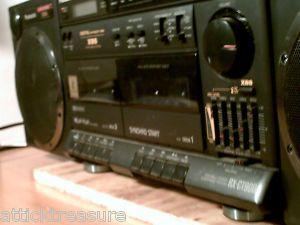 Panasonic Boombox RX Ct 900 Dual Cassette Deck
