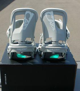 2013 NIB BURTON CARTEL EST SNOWBOARD BINDINGS M cement BRAND NEW boots