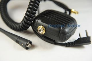 Speaker Mic for Kenwood Puxing WEIERWEI Radio w Antenna