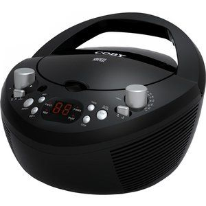 Portable CD Player with AM FM Stereo Tuner 1 x Disc Integrated Stereo